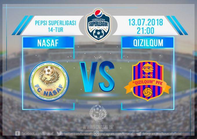 "Superliga: ""Nasaf"" - ""Qizilqum"". Prevyu"