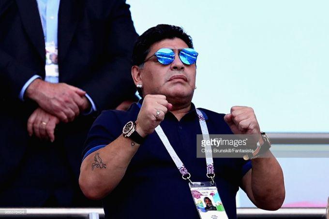 """Maradona: """"Argentina terma jamoasining barcha muammolarini Messiga yuklash noto'g'ri"""""""