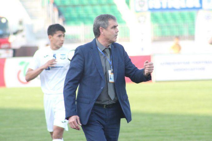 """""""Andijon"""" FK: Sakaev o'z ishini davom ettirmoqda"""