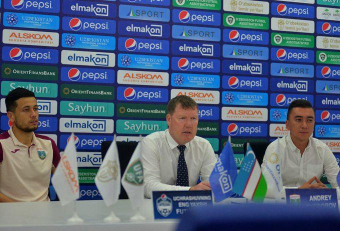Andrey Fyodorov yangi futbolchilar asosiy tarkibga qo'yilmagani sababini aytdi