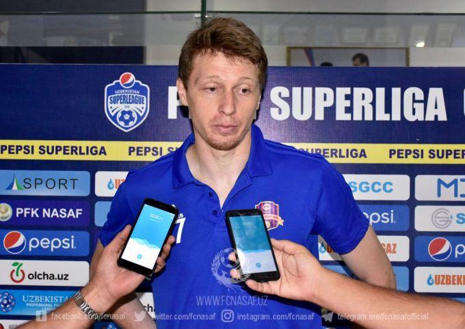 """Evgeniy CHeremisin: """"Hisob o'yinga mos bo'ldi"""""""