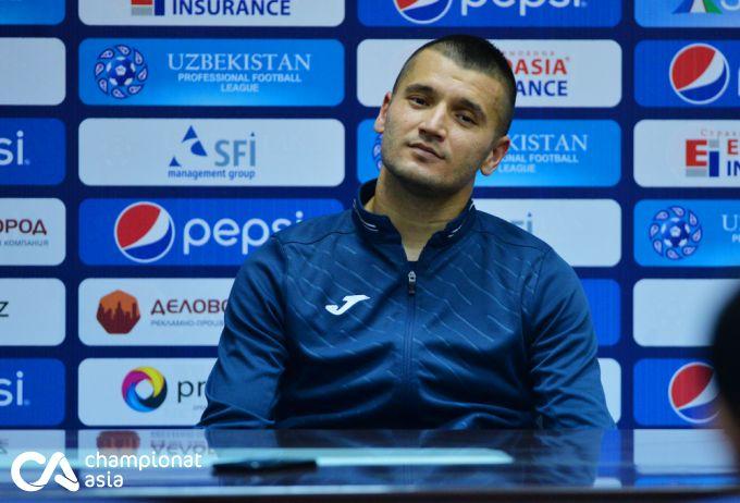 """Ulug'bek Baqoev: """"Buxoro"""" futbolchilarining oldida xijolatdaman"""""""