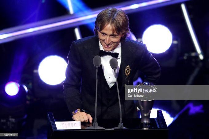The Best. Yilning eng yaxshi futbolchisi - Luka Modrich