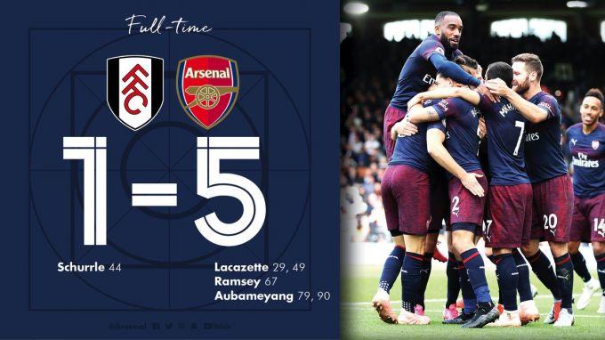"""APL. """"Arsenal"""" derbida yirik hisobda g'alaba qozondi +FOTO"""