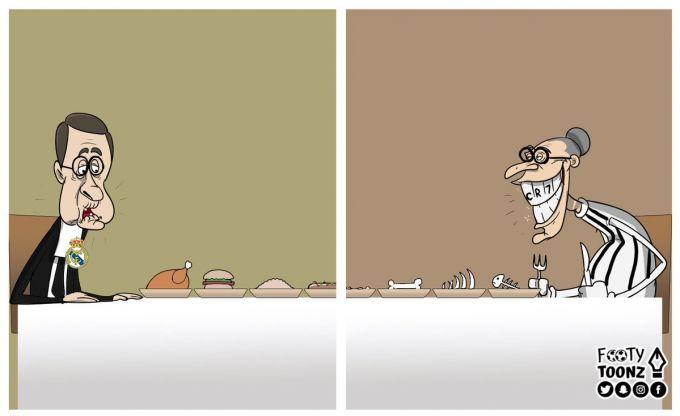 Karikatura. Ikkitasi birida