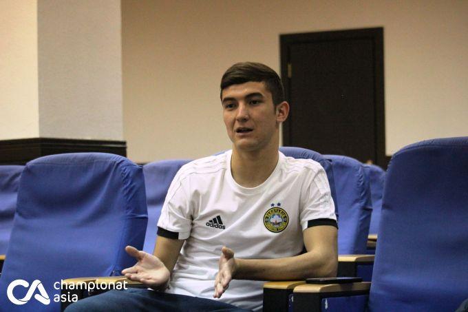 Yoshlar ligasi to'purari SHohruh Mahmudxojiev bilan intervyu