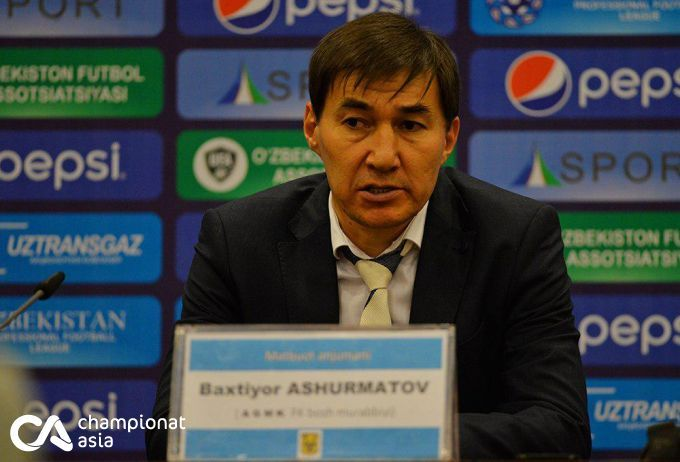 """Baxtiyor Ashurmatov: """"O'zbekiston Kubogini yutdi degani, hayot tugadi degani emas"""""""