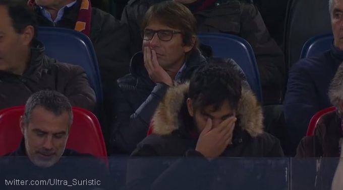 "Antonio Konte ""Roma"" - ""Real"" bahsini stadiondan kuzatdi"