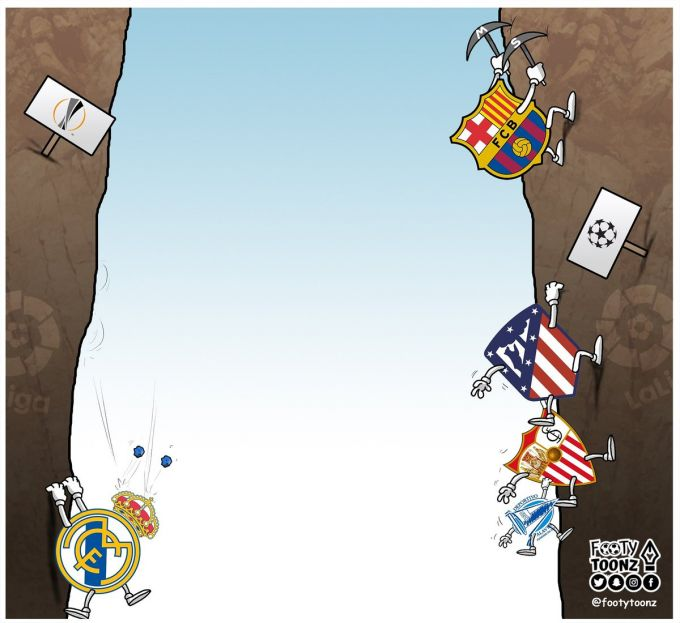 Karikatura: La Ligadagi holat