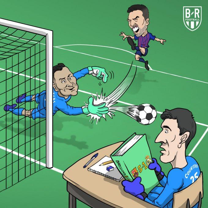 Karikatura: Navas Kurtuaga dars o'tdi