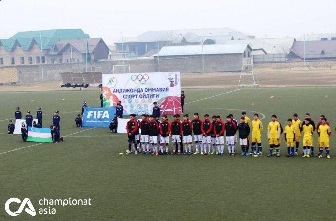 Andijonda 22ta futbol  jamoasi ishtirokida  viloyat hokimi Kubogi musobaqalari boshlandi