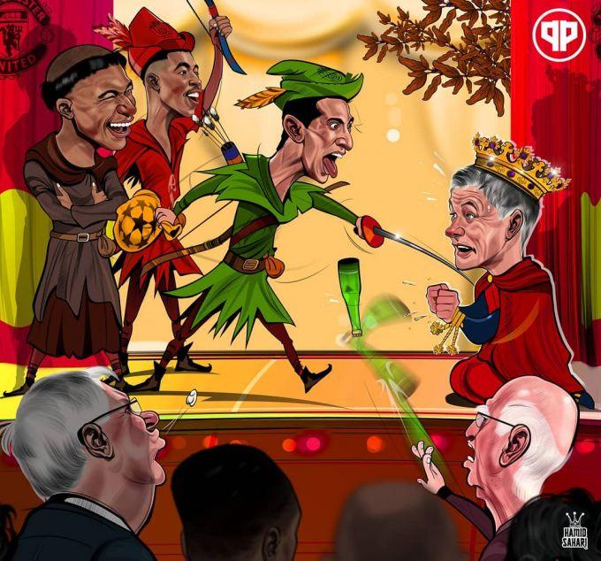 """Karikatura: """"Orzular teatrida"""" shahzoda Sulsher taslim bo'ldi"""