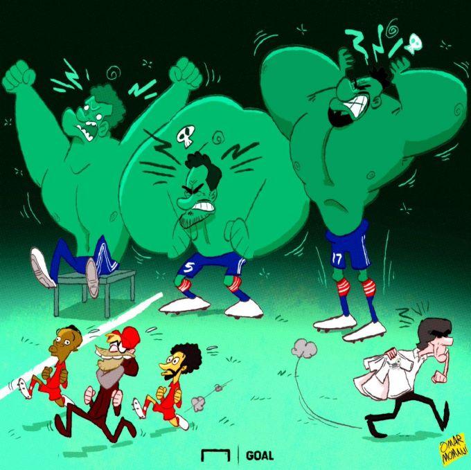 """Omar Momanidan yangi karikatura: """"Bavariya"""" futbolchilarining jahli chiqdi"""