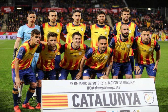 Argentina enga olmagan Venesuela Kataloniya terma jamoasiga mag'lub bo'ldi