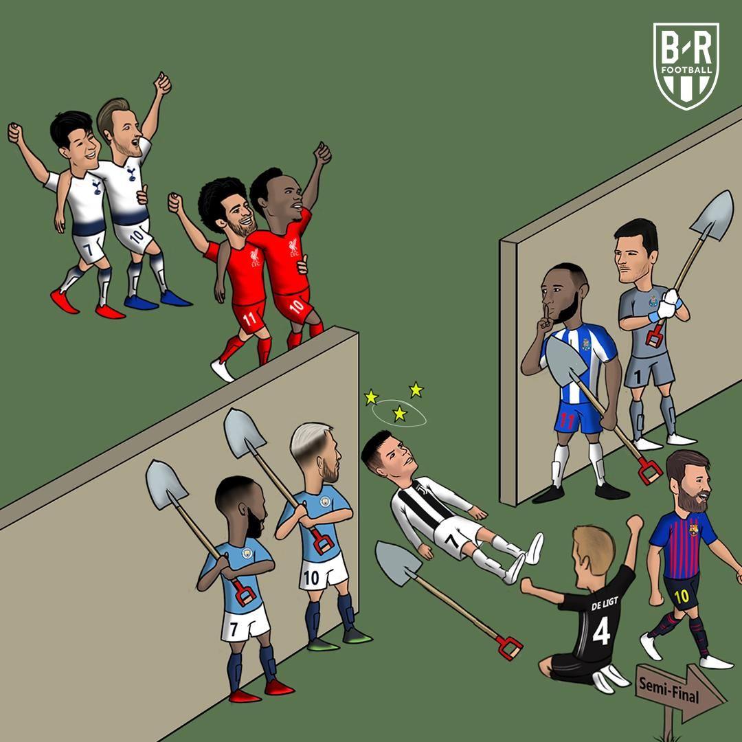 Karikatura: Yana kimlar yarim finalsiz qoladi?!