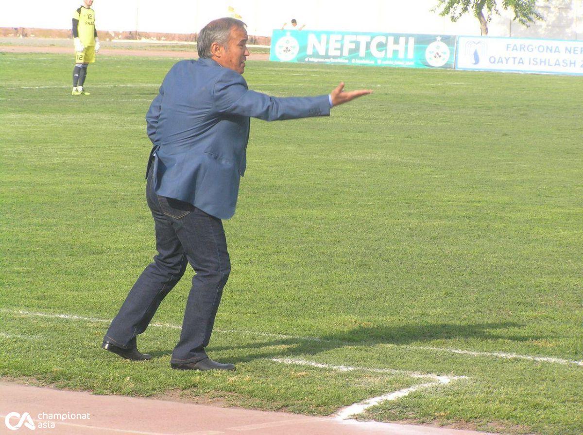 """Abdusamad Do'rmonov: """"Igor  Taran bilan shartnomani bekor qildik"""""""