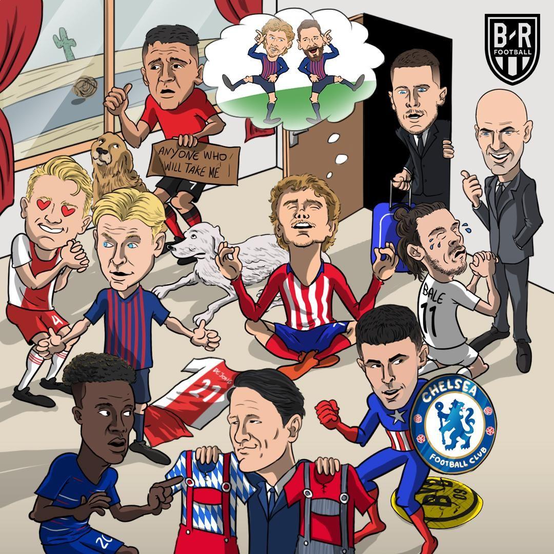 Karikatura: Transfer oynasida nima gaplar?!