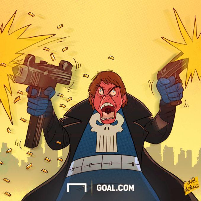 "Foto            Omar Momanidan yangi karikatura: Konte endi ""Inter""da"