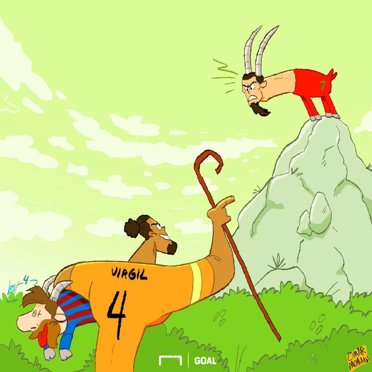 Omar Momanidan yangi karikatura: Gollandiyalik cho'pon ikkinchi echkini ham qo'lga tushirmoqchi