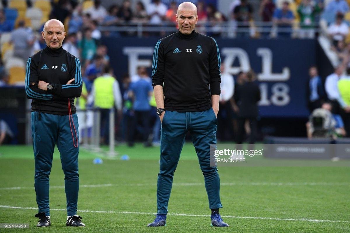 """""""Real""""ning jismoniy tayyorgarliklar bo'yicha taniqli murabbiyi Zidan bilan kelishmovchiligi tufayli """"Inter""""ga ketmoqda"""