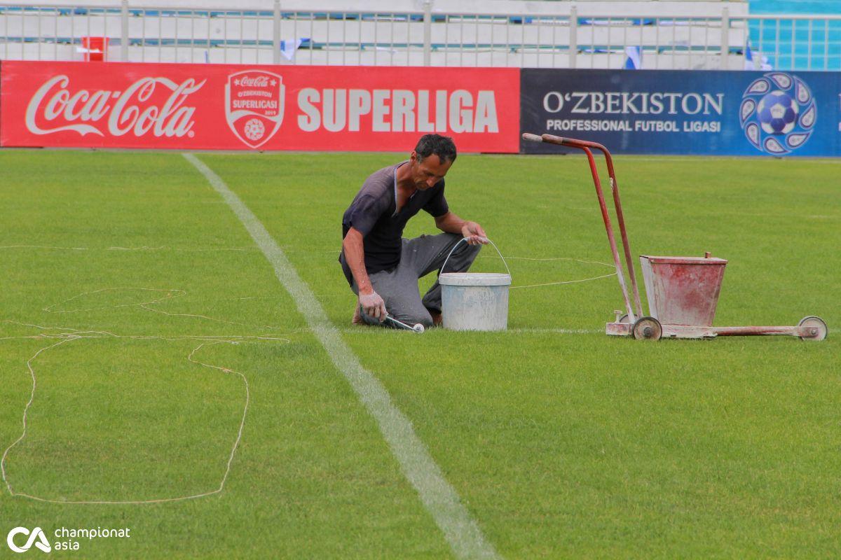 Foto            Qo'qon futbol bayramini qabul qilishga tayyor
