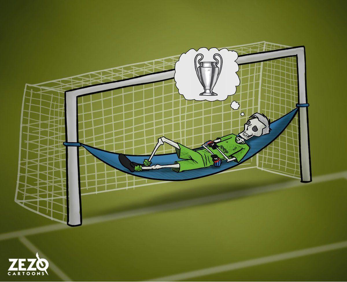 Karikatura: Buffon hamon orzusi amalga oshishini kutmoqda