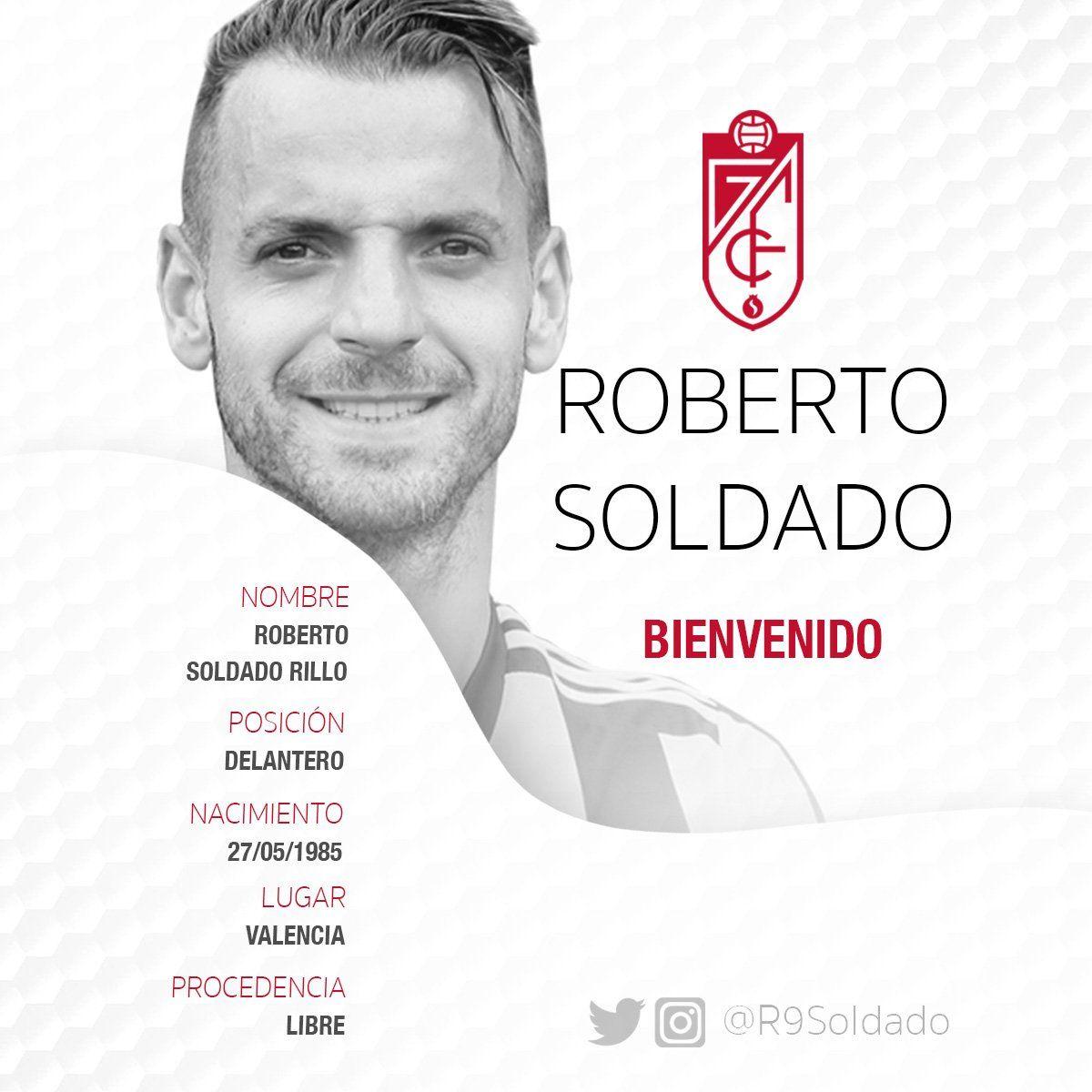Rasman: Roberto Soldado Ispaniyaga qaytdi