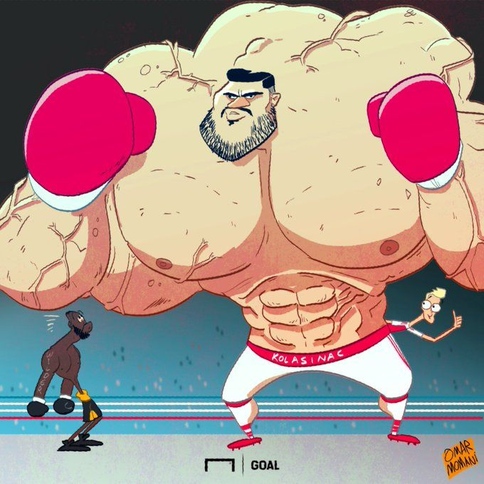 Omar Momani karikaturasi: Kolashinacning mahoratiga Dionti Uaylder ham qoyil qoldi