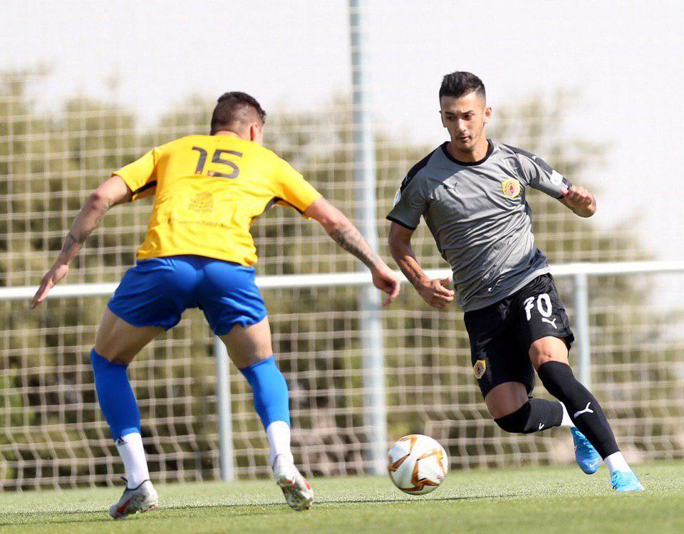 """Rashidov """"Qatar SK"""" safida Madrid klubiga gol urdi"""