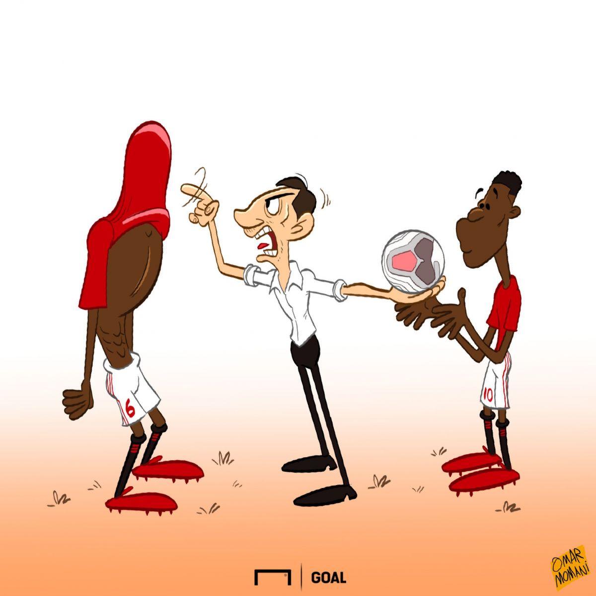 """Omar Momanidan karikatura: """"Bu xiyonat"""""""