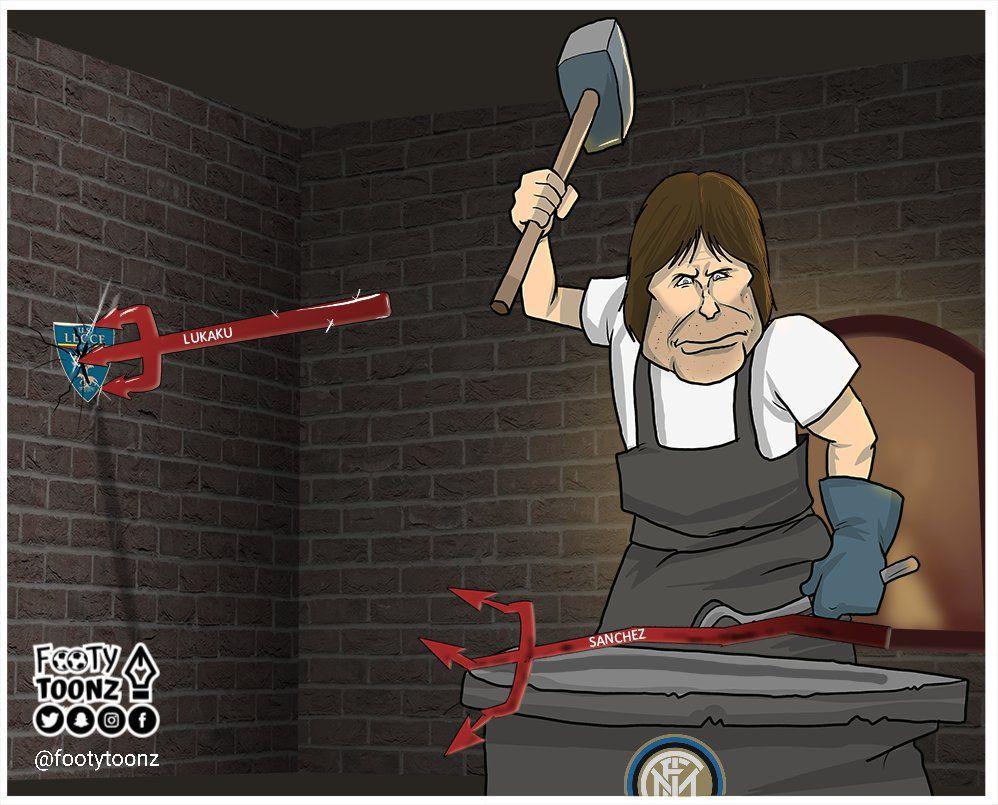 Karikatura: MYUning boshqa bir quroli Konte tomonidan tuzatiladi