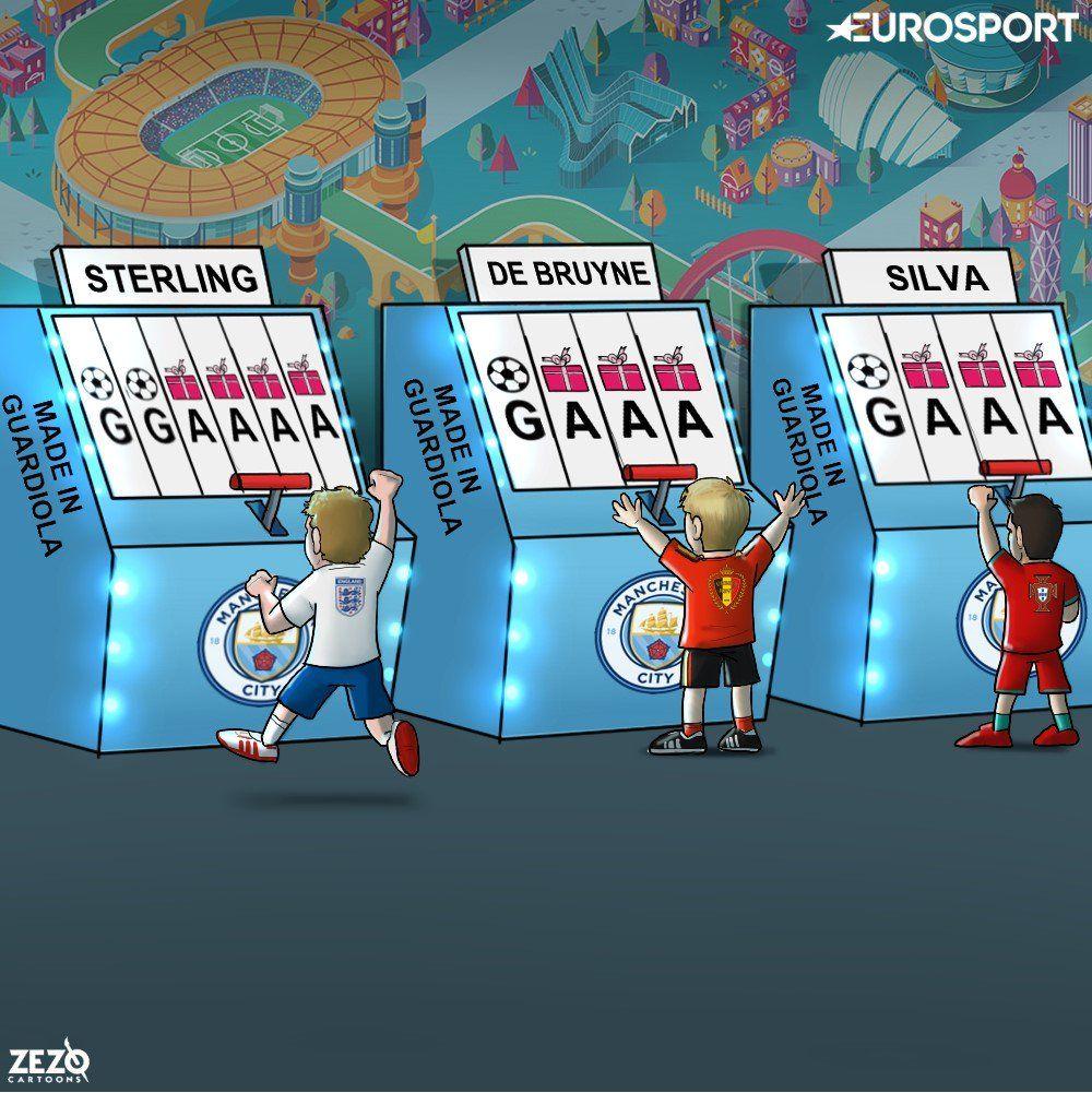 Karikatura: Gvardiolaning shogirdlari terma jamoa safida...