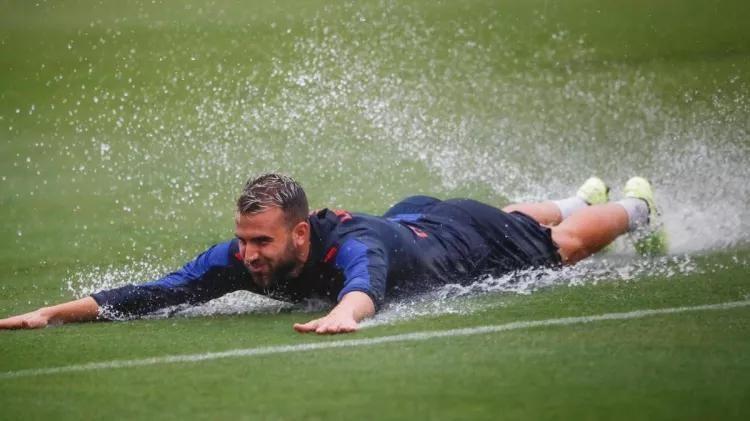 """""""Real""""ga qarshi o'yindan oldin """"Levante"""" futbolchilar o'zgacha mashg'ulot o'tkazishdi"""