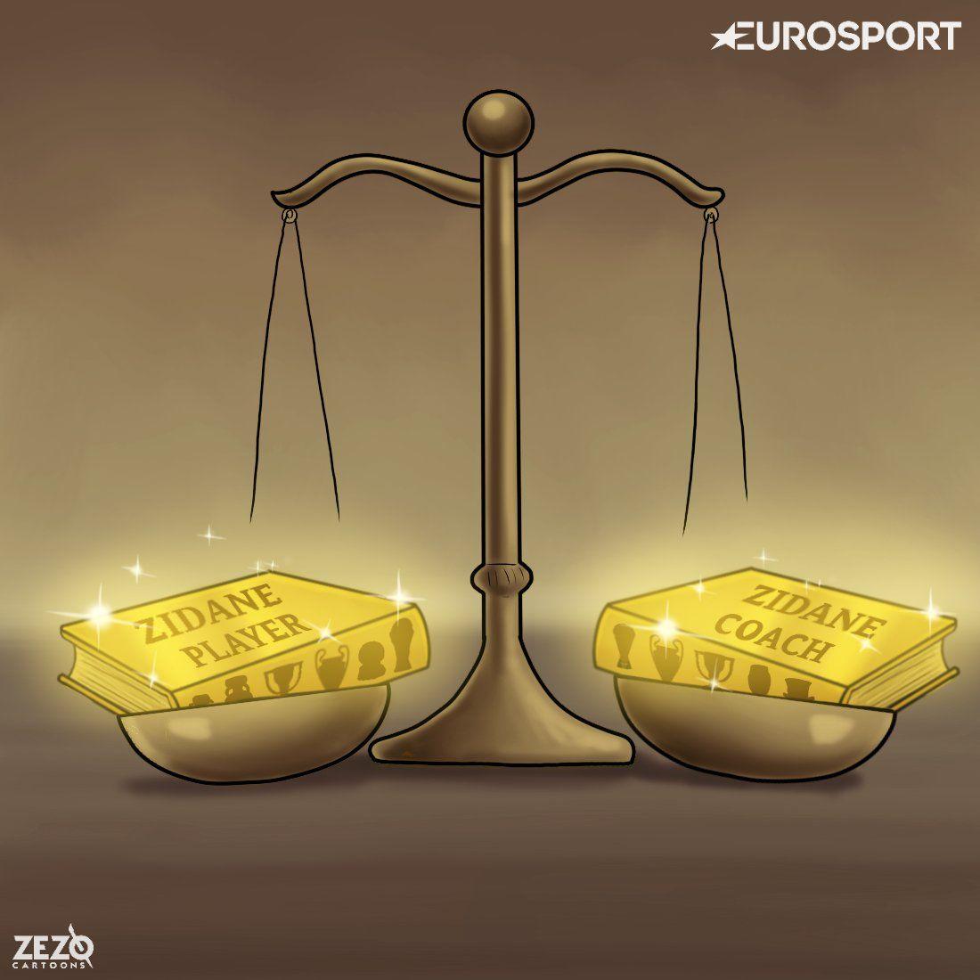 """""""Zezo Cartoons""""ning yangi ishini taqdim etamiz. Futbolchi Zidan kuchlimi yoki murabbiy Zidan?!"""