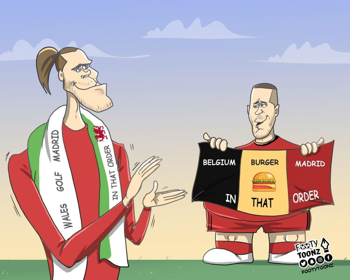"""Karikatura: """"Real""""da yana bitta Beyl bor"""