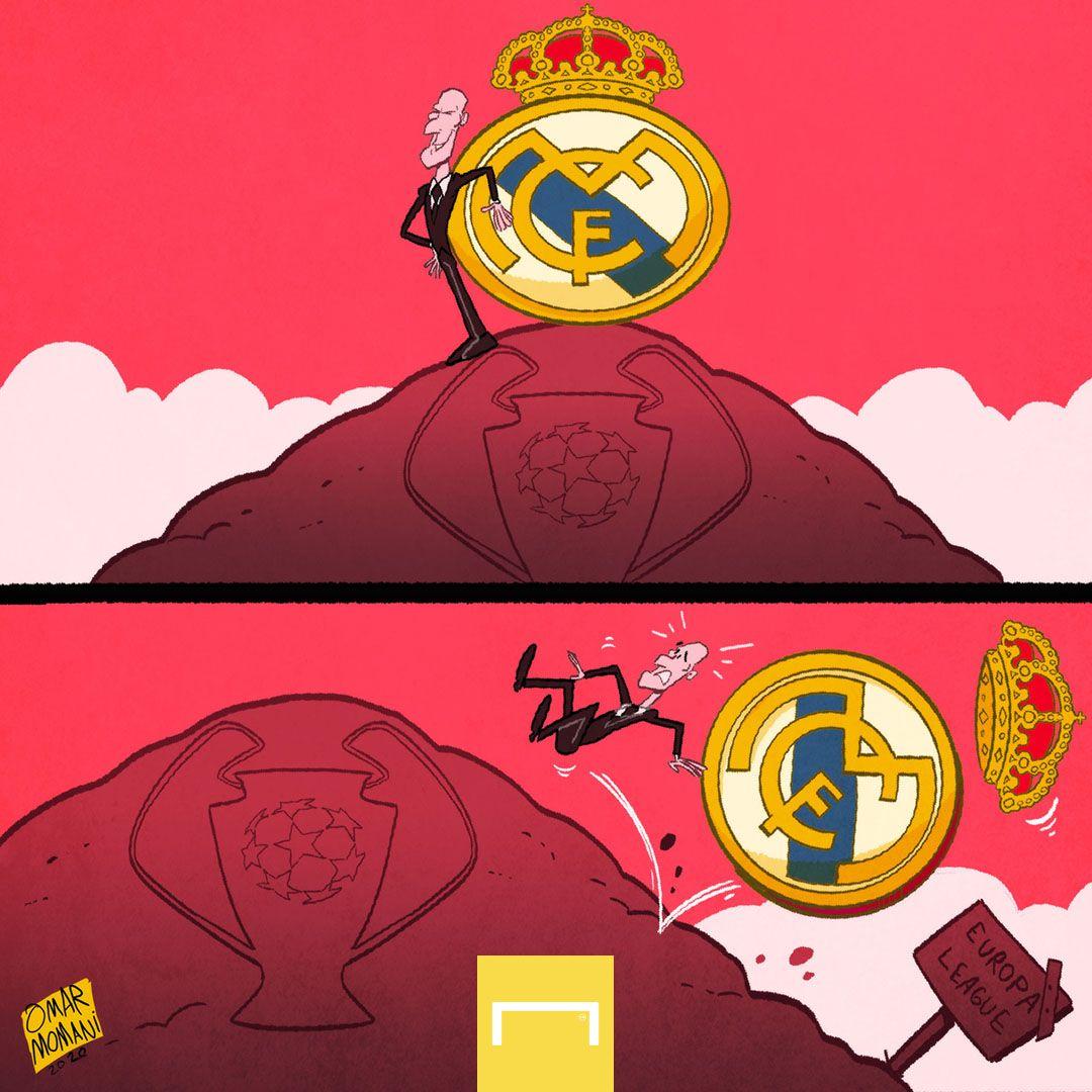 Omar Momanidan karikatura: CHempionlar Ligasi qiroli Evropa Ligasiga tushib ketadimi?