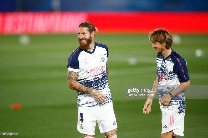 """""""Real"""" Modrich bilan shartnomani uzaytirmoqchi, Ramos bilanchi?"""