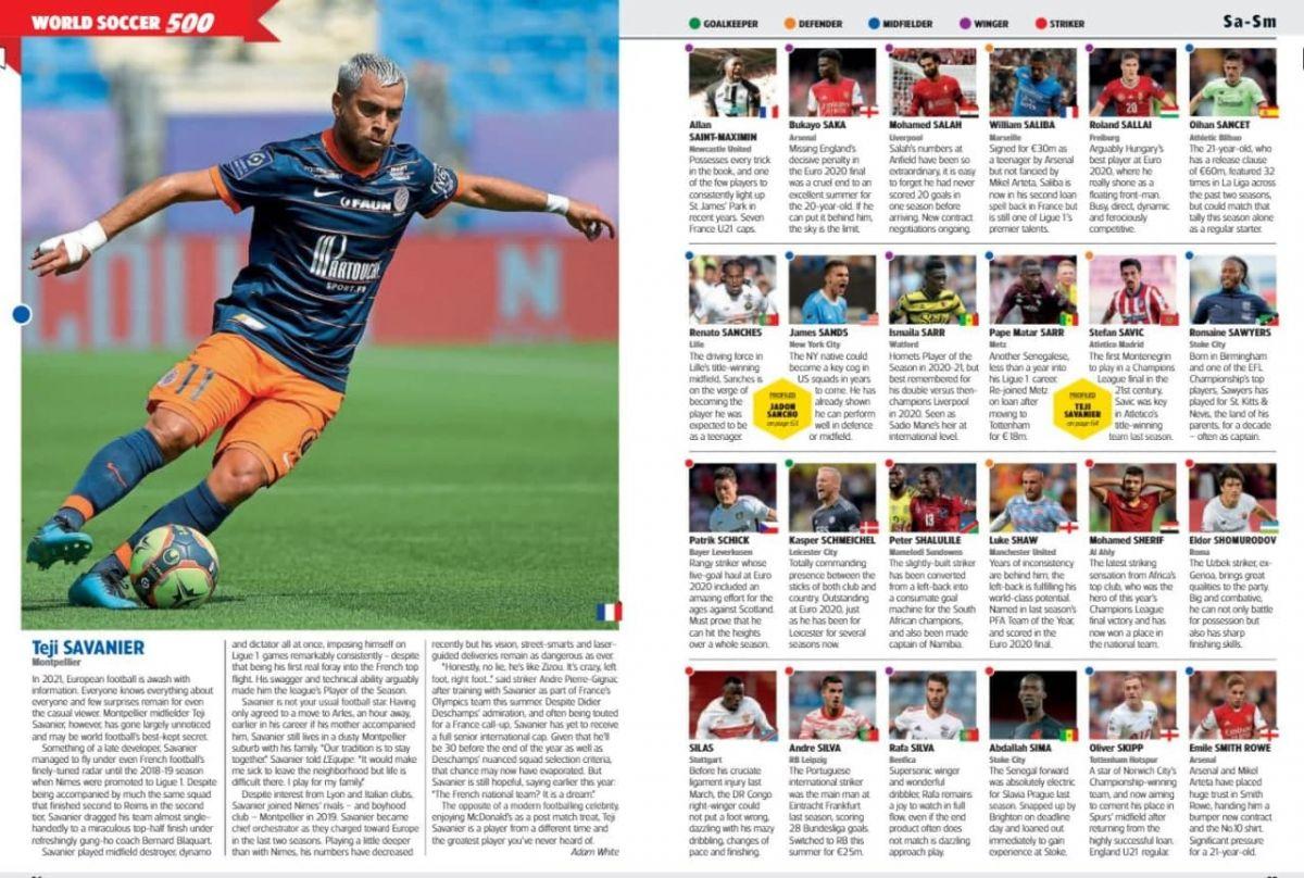 """Eldor SHomurodov """"World Soccer"""" talqini bo'yicha eng muhim futbolchilar ro'yxatiga kiritildi"""