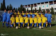 Uzbekistan U-17 Youth team play three matches with Iran